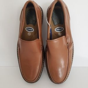 Dr. Scholls Leather Loafers Mens Size 10.5